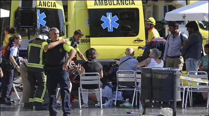 بارسلونا حملے کے بعد 5 دہشتگرد ہلاک، داعش نے ذمہ داری قبول کرلی