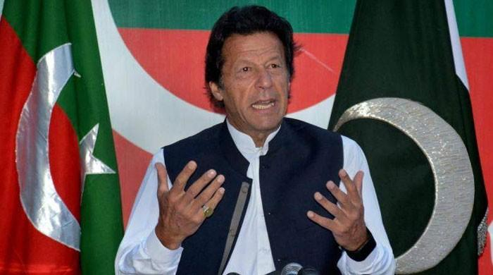 ایاز صادق نوازشریف کی کرپشن بچارہے ہیں، عمران خان