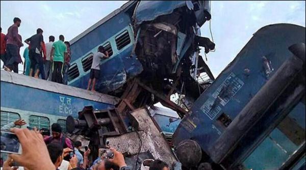 بھارت:مظفر نگر کے نزدیک ٹرین حادثہ،23 افراد ہلاک