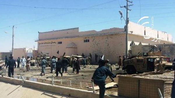 افغان شہر لشکر گاہ میں خودکش دھماکا، 2 فوجیوں سمیت 5 ہلاک اور متعدد زخمی