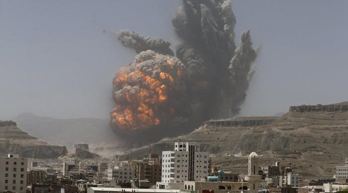 یمن کے دارالحکومت صنعا میں فضائی کارروائی؛ 30 افراد ہلاک