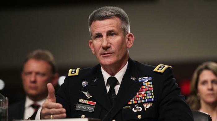 طالبان جنگ نہیں جیت سکتے، امن عمل کا حصہ بن جائیں، امریکی کمانڈر