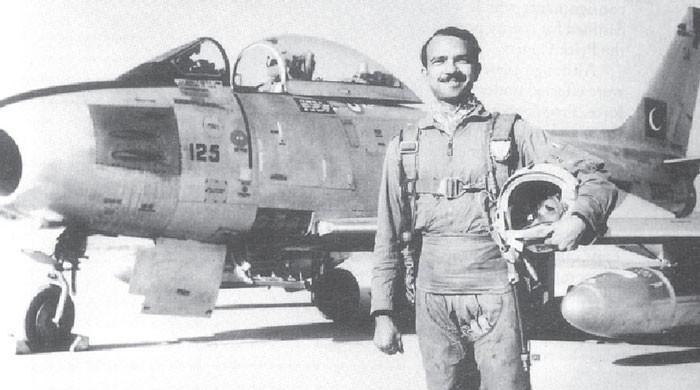 1965 کی جنگ: ایم ایم عالم کا تاریخی کارنامہ