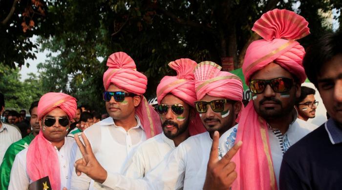 پاکستان بمقابلہ ورلڈ الیون: تصاویر دیکھیں