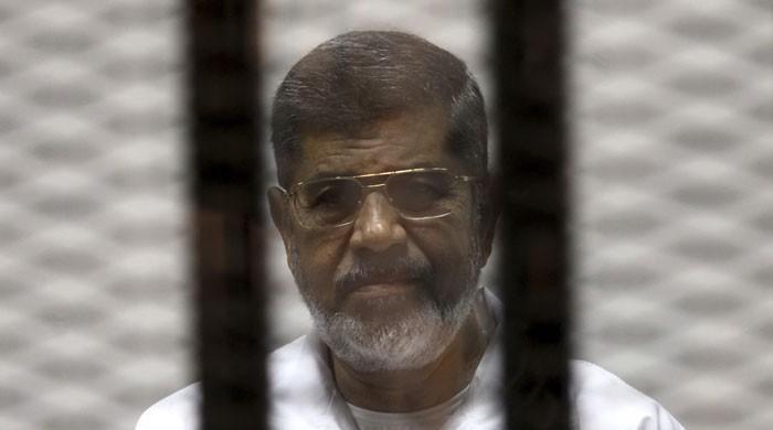 جاسوسی کا الزام : سابق مصری صدر مرسی کو 25 سال قید کی سزا