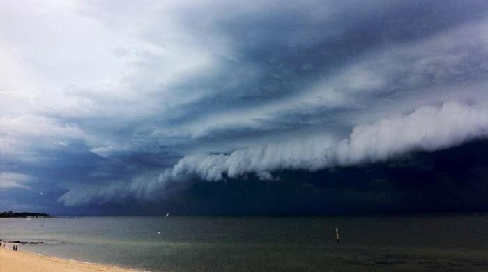 تباہ کن سمندری طوفان 'ماریہ' کی کیربین جزیرے کی جانب پیش قدمی