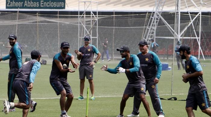 سری لنکا سے سیریز: قومی ٹیم کا لاہور میں تربیتی کیمپ شروع