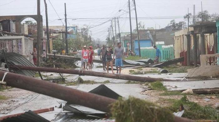 سمندری طوفان 'ماریا' کیٹیگری 5 شدت کے ساتھ ڈومنیکا جزیرے سے ٹکرا گیا