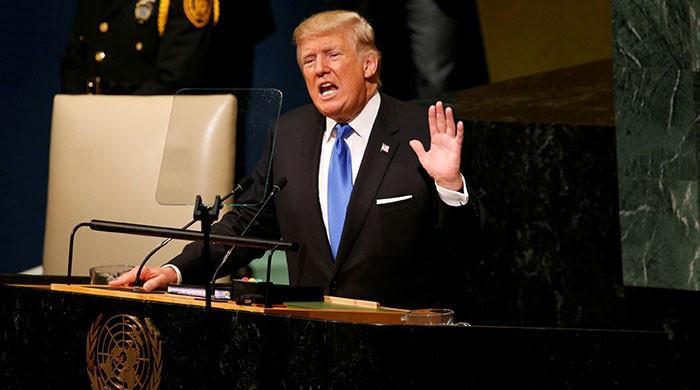 امریکا کو خطرہ ہوا تو شمالی کوریا کو تباہ کرسکتے ہیں، صدر ٹرمپ
