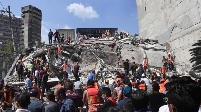 میکسیکو میں زلزلے نے تباہی مچادی، 248 سے زائد افراد ہلاک