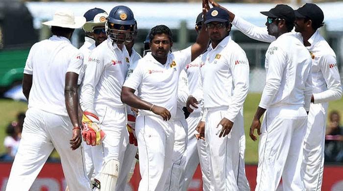 پاکستان کیخلاف سیریز کیلئے سری لنکن ٹیسٹ ٹیم کا اعلان
