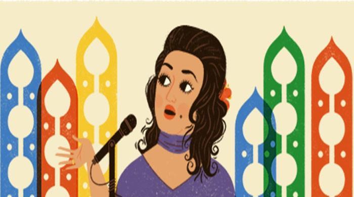 ملکہ ترنم نور جہاں کی 91ویں سالگرہ پر گوگل کا بھی خراج عقیدت