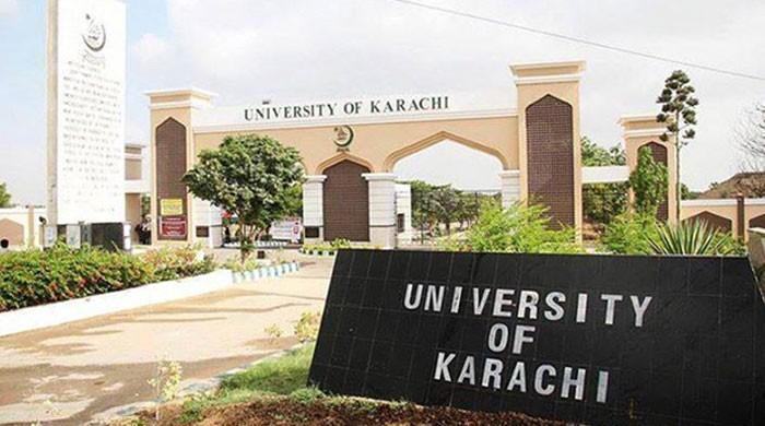 جامعہ کراچی میں حساس ادارے کا چھاپا، تین افراد زیر حراست