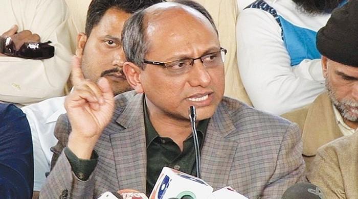 مشرف آصف زرداری پر الزام کی بات پہلے بھی کر چکے ہیں، سعید غنی