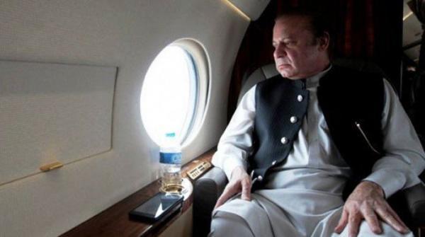 نواز شریف پاکستان روانگی کیلئے لندن ایئر پورٹ روانہ