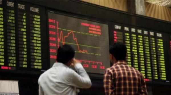 پاکستان اسٹاک ایکسچینج میں شدید مندی جاری