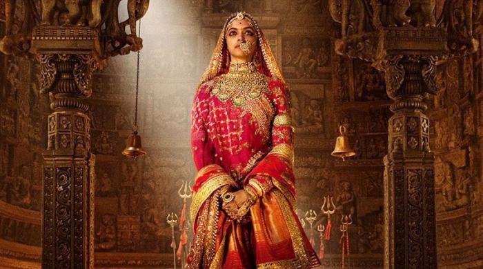 فلم 'پدماوتی' میں دپیکا نے 400 کلو سونا پہنا