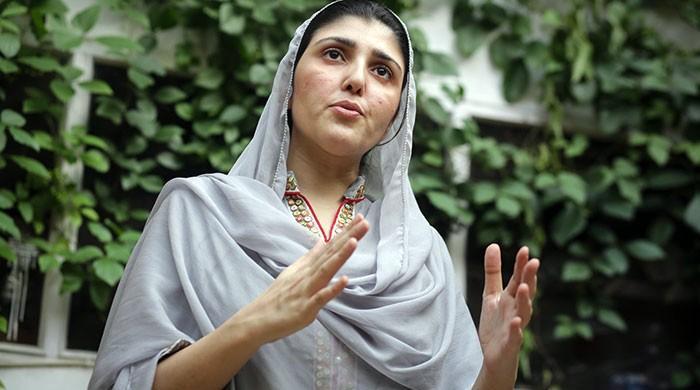 عائشہ گلالئی بھی ٹوئٹر ٹرینڈ 'می ٹو' میں پیش پیش