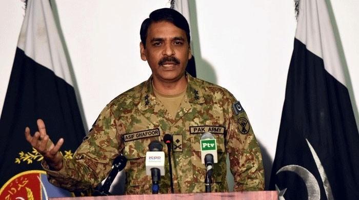 پاکستانی علاقے میں ڈرون حملے کی خبریں بے بنیاد ہیں، ترجمان پاک فوج