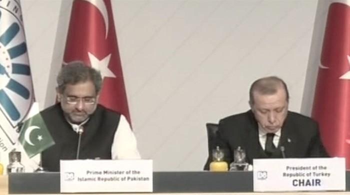 پاکستان نے ڈی ایٹ تنظیم کی صدارت ترکی کے سپرد کردی