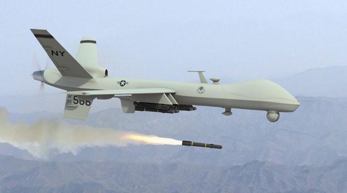 پاک افغان سرحد کے قریب ڈرون حملہ، 12 افراد ہلاک