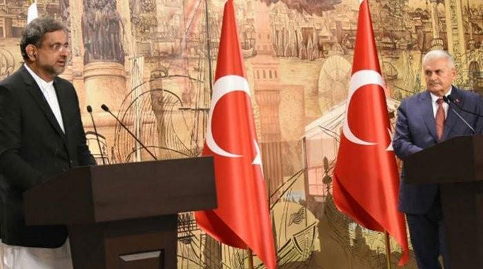 ترکی کے دشمن کو پاکستان کا دشمن سمجھتے ہیں، وزیراعظم شاہد خاقان عباسی
