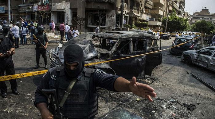 مصر میں عسکریت پسندوں کے ساتھ جھڑپوں میں 52 سیکیورٹی اہلکار ہلاک