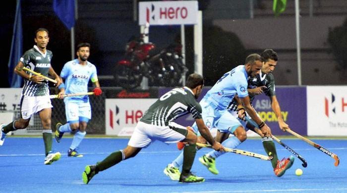ہاکی: بھارت سے شکست، پاکستان ایشیا کپ فائنل کی دوڑ سے باہر