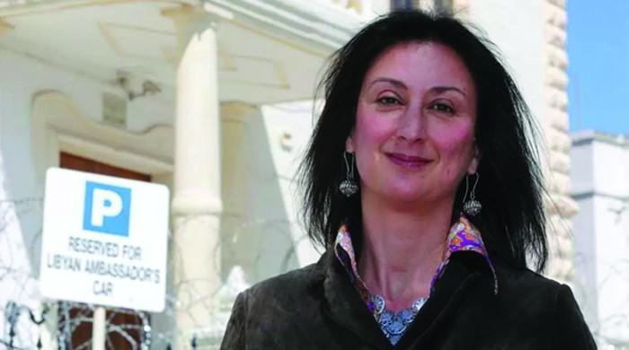 مالٹا میں خاتون صحافی کےقاتلوں کی نشاندہی کرنیوالے کیلیے انعام کااعلان