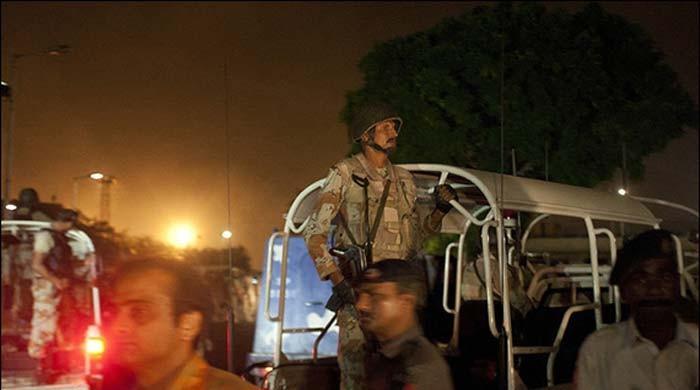 کراچی: بلدیہ ٹاؤن میں رینجرز اور سی ٹی ڈی کی کارروائی، 8 دہشت گرد ہلاک