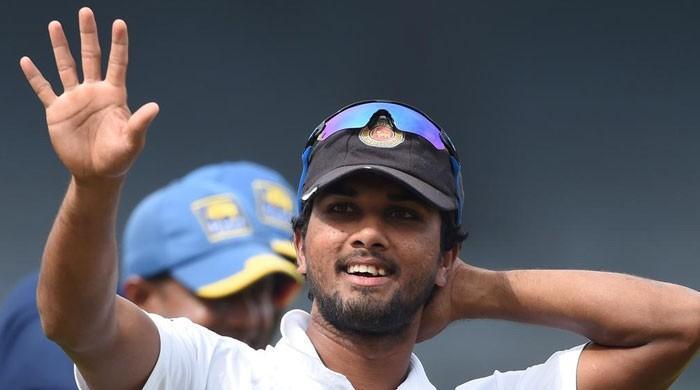 پاکستان کیخلاف ٹیسٹ میں فتح 'جادوگرنی' کا کمال: سری لنکن کپتان