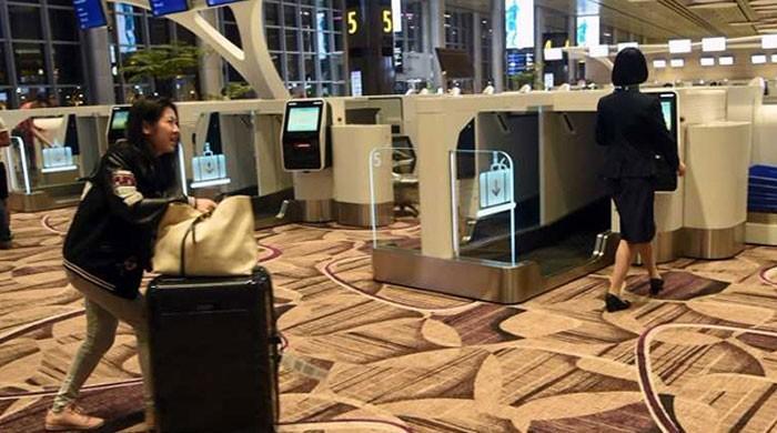 نہ قطار نہ انتظار، سنگاپور میں ایئرپورٹ پر آٹومیٹک چیک ان سسٹم متعارف