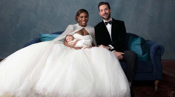 سرینا ولیمز کی شادی کی تصاویر منظرعام پر