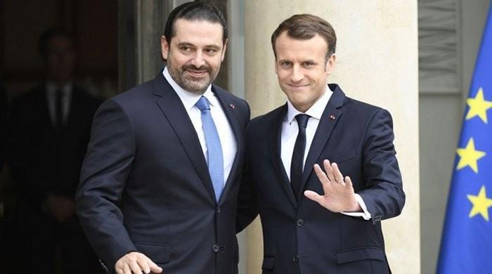 لبنان کے مستعفی وزیراعظم سعودی عرب سے پیرس پہنچ گئے
