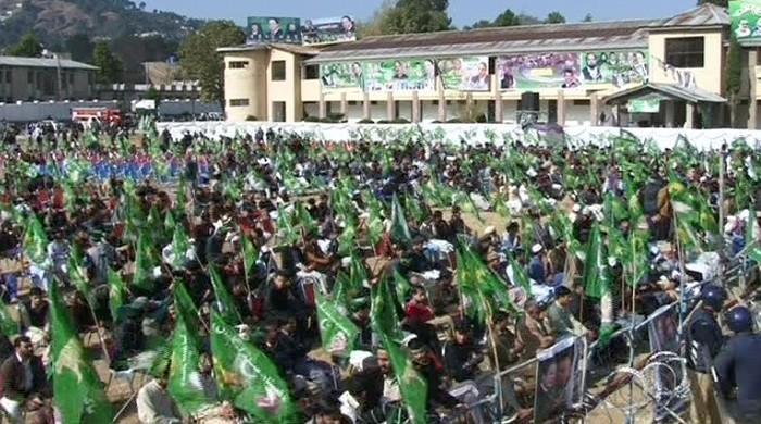 عوامی رابطہ مہم: نواز شریف آج ایبٹ آباد جلسے سے خطاب کریں گے