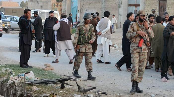 کوئٹہ میں دہشت گردوں کے خاتمے کیلئے سرچ آپریشن، گھر گھر تلاشی
