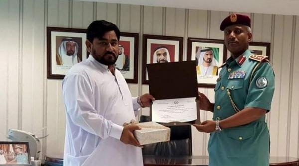 شارجہ: چور کو پکڑنے پر پاکستانی شہری کیلئے اعزاز