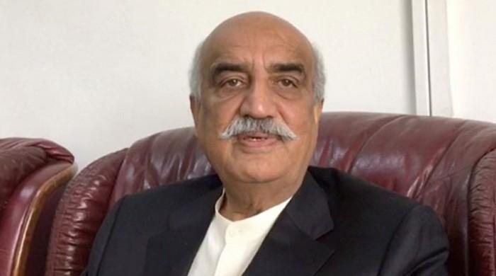 اسلام آباد دھرنا حکومتی کمزوری اور رٹ ختم ہونے کی نشانی ہے، خورشید شاہ