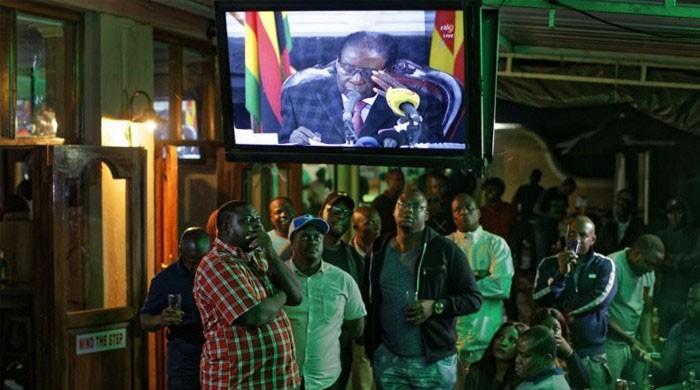 زمبابوین صدر کا قوم سے خطاب، استعفے کا ذکر تک نہ کیا