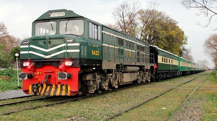 'مالی سال 17-2016 میں ریلوے کی آمدنی 40 ارب روپے سے متجاوز'