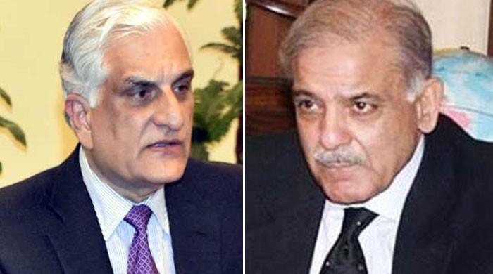 وزیر قانون زاہد حامد کی شہباز شریف سے اہم ملاقات