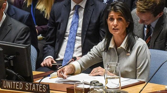 مشرق وسطیٰ میں امن کیلیے پرعزم ہیں، امریکی سفیر برائے اقوام متحدہ