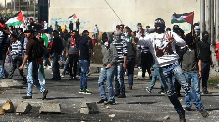 اسرائیلی فوج کی بمباری اور فائرنگ سے شہید فلسطینیوں کی تعداد 4 ہوگئی