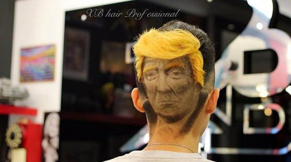'ٹرمپ ہیئر اسٹائل' کے چرچے