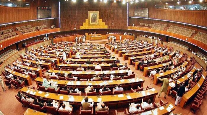 قومی اسمبلی اجلاس: فاٹا اصلاحات بل پیش نہ ہونے پر اپوزیشن کی ہنگامہ آرائی