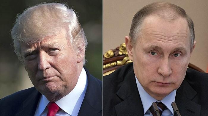 ٹرمپ اور پیوٹن کا رابطہ: کشیدگی ختم کرنے پر تبادلہ خیال