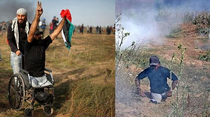 اسرائیلی افواج کی وحشیانہ کارروائی، معذور شخص سمیت 4 فلسطینی شہید