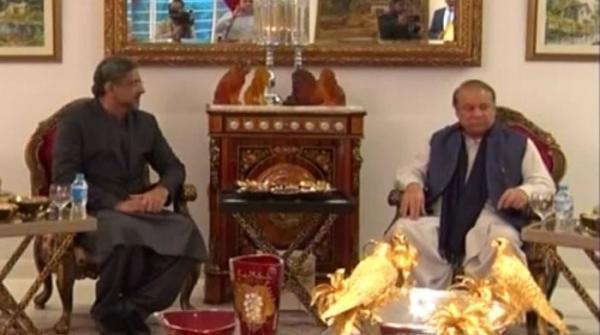 وزیراعظم اور نواز شریف کی ملاقات: فاٹا کے معاملے پر فضل الرحمان کے تحفظات دور کرنے پر اتفاق