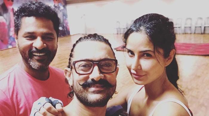 عامر خان اور کترینہ نے نئی فلم کیلئے ڈانس کلاسز لینا شروع کردیں