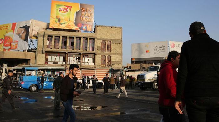 بغداد میں دو خود کش حملوں میں 38 افراد ہلاک، 105زخمی